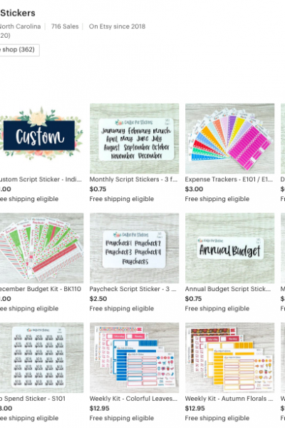 Where To Buy Budget Planner Stickers