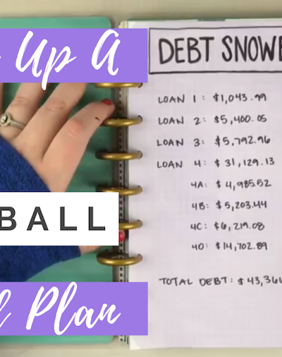 How To Set Up A Debt Snowball