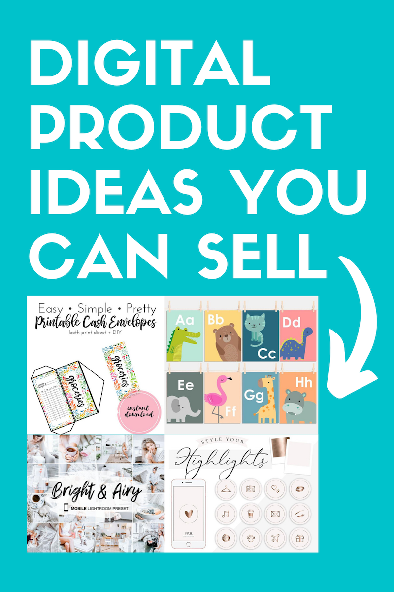 20 Digital Product Ideas To Sell To Make Passive Income   Pennies ...