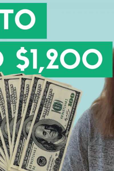 How To Spend Your $1,200 Stimulus Check