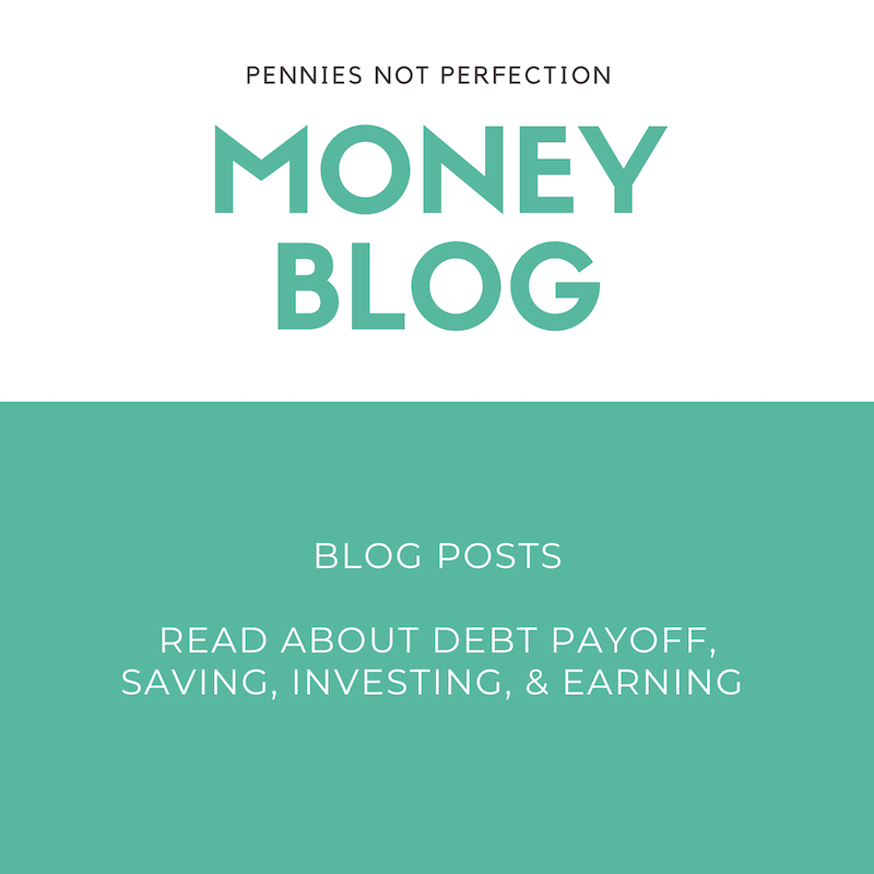 personal finance blog budgeting planner